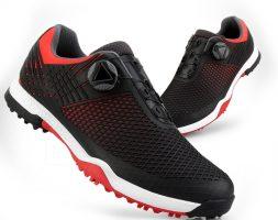 Rotating Knobs Buckle Golf Sneakers